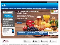 Citibank screenshot