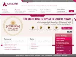Axis Bank screenshot