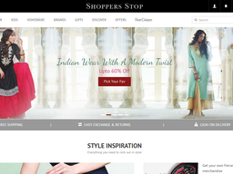 Shoppers Stop screenshot