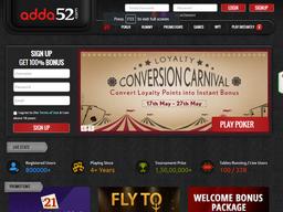 Adda52 screenshot