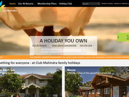 Club Mahindra screenshot