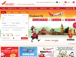 Air India screenshot