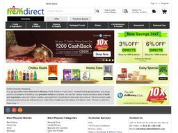 Reliance Fresh Direct screenshot
