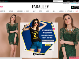 FabAlley screenshot
