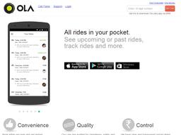 Ola screenshot