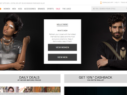 Jabong screenshot