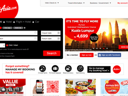AirAsia screenshot