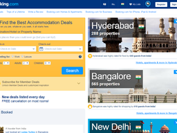 Booking.com screenshot