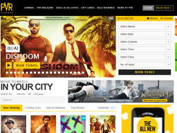 PVR Cinemas screenshot
