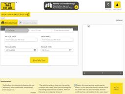 TaxiForSure screenshot