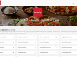 Zomato screenshot