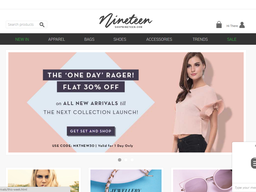 Shop Nineteen screenshot
