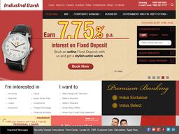 Indusind screenshot
